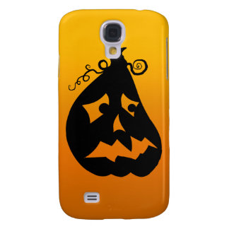 Pumpkin Scared Galaxy S4 Cases