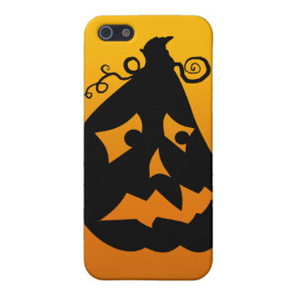 Pumpkin Scared Cover For iPhone SE/5/5s