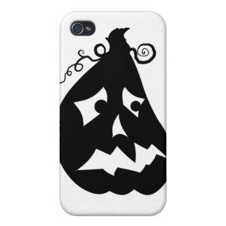 Pumpkin Scared iPhone 4/4S Case