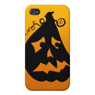 Pumpkin Scared iPhone 4 Case