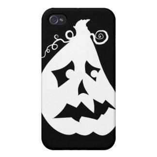 Pumpkin Scared iPhone 4 Cases