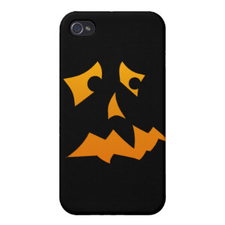 Pumpkin Scared iPhone 4 Cases