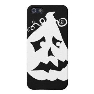 Pumpkin Scared iPhone SE/5/5s Cover