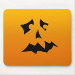 Pumpkin Scared Mouse Pad