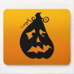 Pumpkin Scared Mousepads