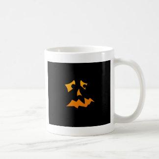 Pumpkin Scared Classic White Coffee Mug