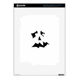 Pumpkin Scared Skins For iPad 3