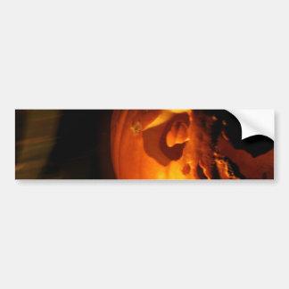 Pumpkin Scream Bumper Sticker