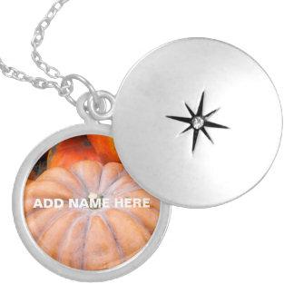 Pumpkin Season Locket Necklace