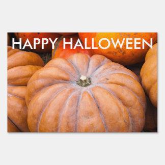 Pumpkin Season Two texts Yard Sign