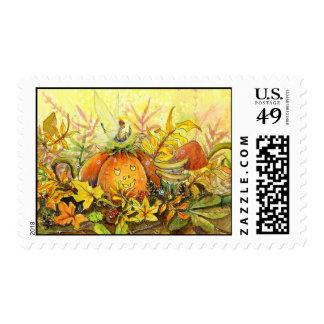 Pumpkin Seat Postage