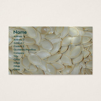 Pumpkin Seed business cards