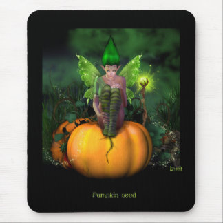 Pumpkin seed mouse pad