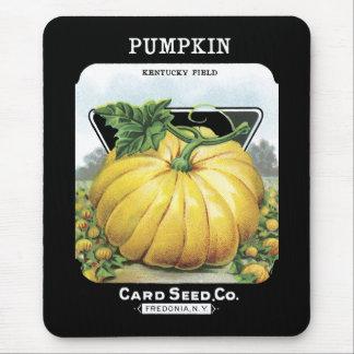 Pumpkin Seed Packet Mousepad Mouse Mat
