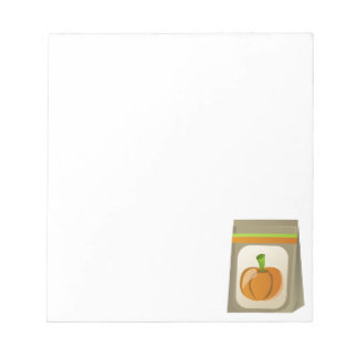 Pumpkin seeds notepad