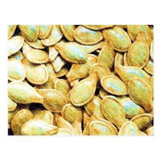 Pumpkin Seeds Postcard