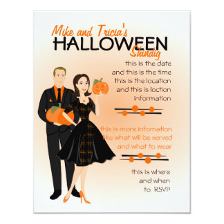 Pumpkin Shindig Card