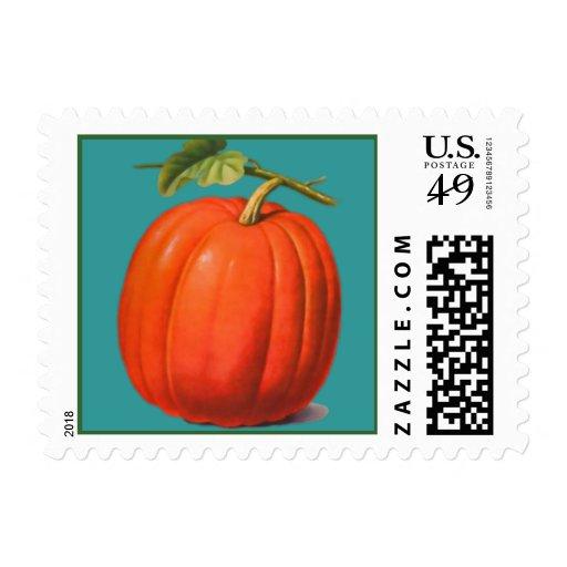 Pumpkin Sky Postage
