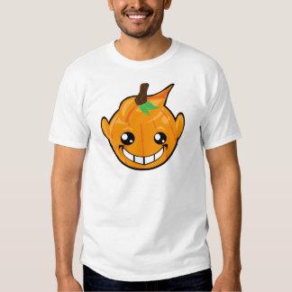 pumpkin smiley face tee shirt