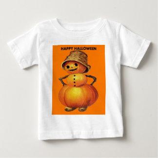 Pumpkin Snowman Baby T-Shirt