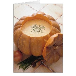 Pumpkin Soup Card