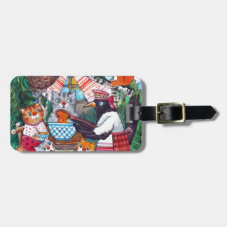 pumpkin soup luggage tag