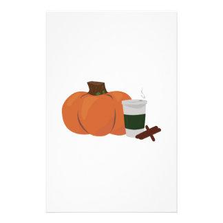 Pumpkin Spice 2 Stationery