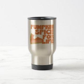 Pumpkin Spice 4 Life Travel Mug