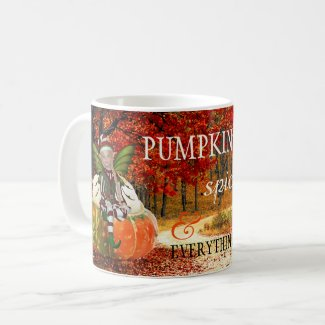 Pumpkin Spice and Everything Nice Autumn Mug