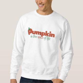 Pumpkin spice autumn humor sweatshirt