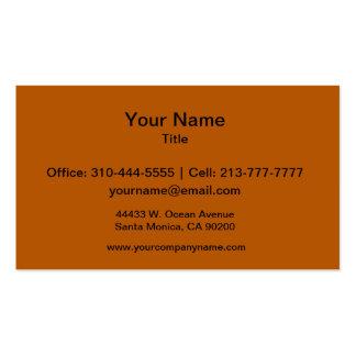Pumpkin Spice Business Card Templates