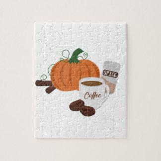 Pumpkin Spice Coffee Jigsaw Puzzle