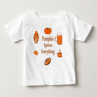 pumpkin spice everything baby T-Shirt