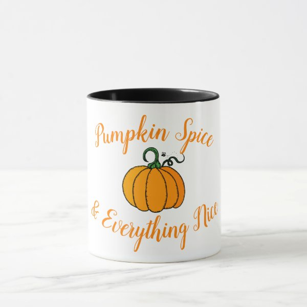 Pumpkin Spice & Everything Nice Mug