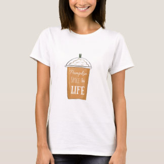 Pumpkin Spice is Life Graphic T-Shirt