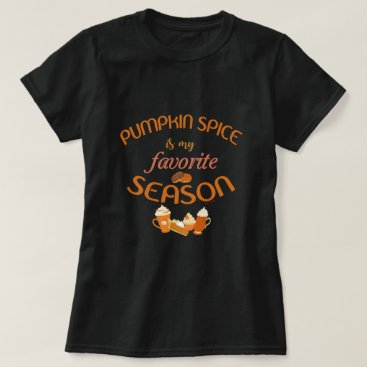 Beach Themed Pumpkin Spice is my Favorite Season T-Shirt