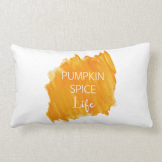 Pumpkin Spice Life Lumbar Pillow