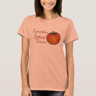 Pumpkin Spice Season Orange Autumn Fall Tee