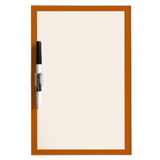 Pumpkin Spice Solid Color Dry-Erase Whiteboards