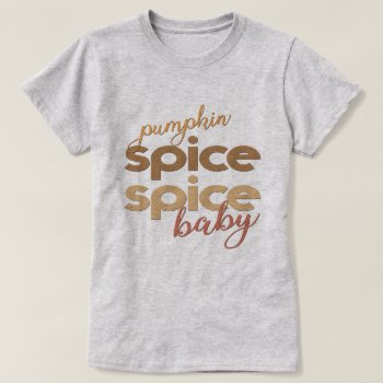 Pumpkin Spice Latte T-Shirt