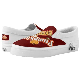 Pumpkin Spiced Everything Printed Shoes