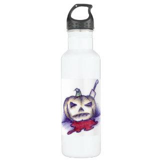 Pumpkin Stab Stainless Steel Water Bottle
