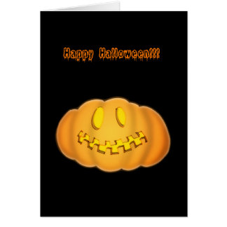 Pumpkin Stationery Note Card
