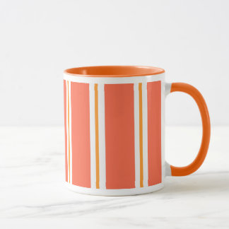 """Pumpkin Stripe"" Mug"