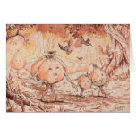 Pumpkin Stroll Greeting Card