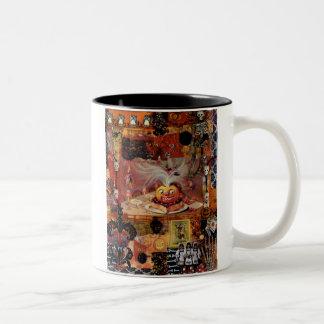 Pumpkin Surprise Two-Tone Coffee Mug