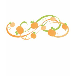 Pumpkin Swirl shirt