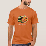 Hand shaped Pumpkin t-shirt