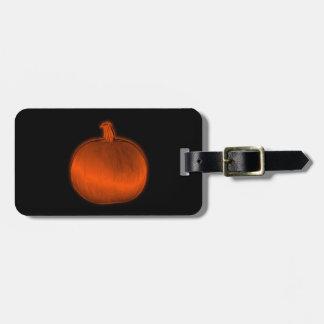 Pumpkin Tag For Luggage