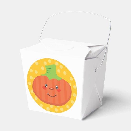 Pumpkin Take out Treat Boxes